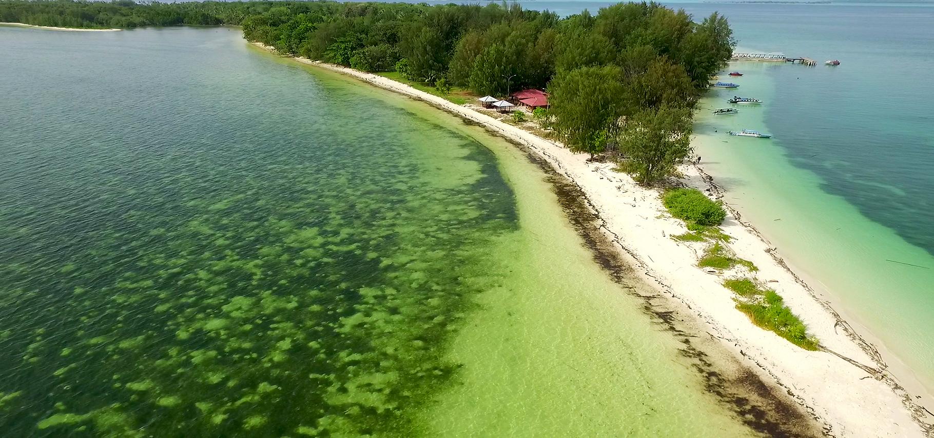 Wisata Pantai Dodola Morotai